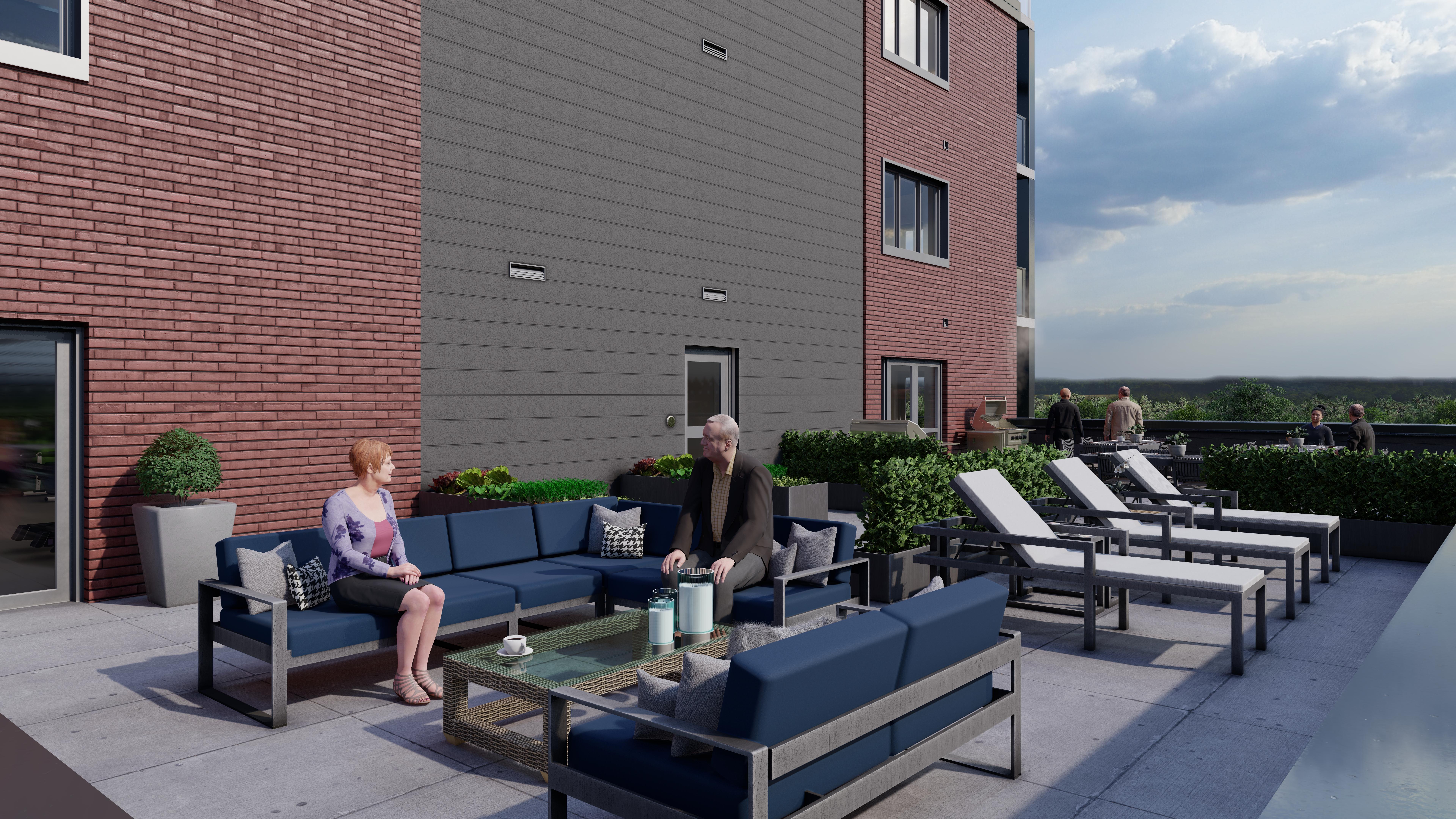 Lancaster Park - Outdoor Terrace - 02